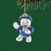 Carlton Cards Carlton Heirloom Police Snowman Christmas Ornament