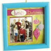 CC Christmas Decor Carlton Cards Heirloom Family & Friends Picture Frame Christmas