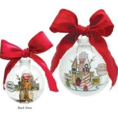 Santa Barbara Ceramic Design Santa Barbara Design Studio Lolita Holiday Moments Glass Ball Ornament Cheery Mismas