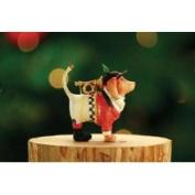 Patience Brewster Mini Bugler Beagle Ornament