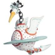Patience Brewster Mini 12 Days Swan A Swimming Ornament