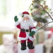 Annalee 5 Corduroy Santa Ornament