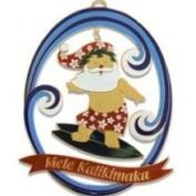 Buns of Maui Hawaii Matal Christmas Ornament Surf's Up