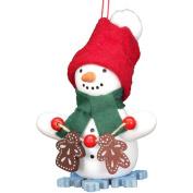 Alexander Taron 10/0270 Snowman with Gingerbread Ornament