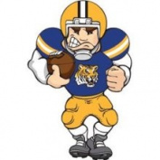 50.8cm NCAA LSU Tigers Lighted Window Football Player #2651