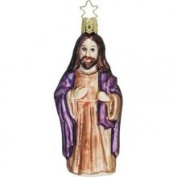 Inge-Glas Inge-Glas Jesus The Shepherd German Glass Christmas Ornament