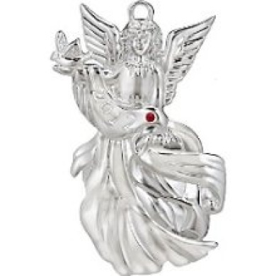 Waterford Holiday: Silver 2012 Angel of Peace Ornament