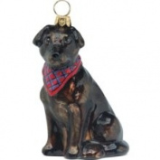 Joy to The World Collectibles 'Labrador Retriever with Bandana' Ornament Chocolate