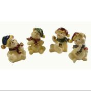 CC Christmas Decor Club Pack of 120 Classic Christmas Bear Figures 10.2cm