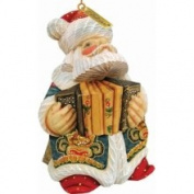 G.debrekht 651829 Accordian Santa Ornament 3
