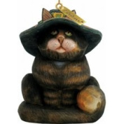 G.debrekht 654111 c-halloween Cat Ornament