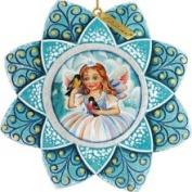 G.debrekht 6102193 Fairy Snowflake Ornament 4.5