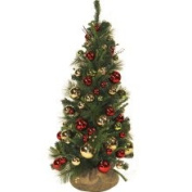 Ornament-embellished Christmas Tree (4')