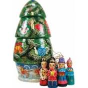 G.debrekht 110803 Christmas Tree Doll Ornaments 9