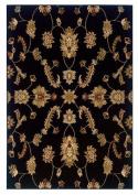 LR Resources Adana Black Traditional Design Rug Rug Size