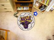 Fanmats 00113 Minnesota State University - Mankato Soccer Ball Rug