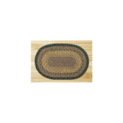Capitol Importing 00-099 Brown-Black-Charcoal - 10 in. x 15 in. Oval Swatch