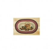 Capitol Importing 65-307AB Apple Basket - 20 in. x 30 in. Oval Patch