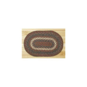 Capitol Importing 00-040 Burgundy-Gray - 10 in. x 15 in. Oval Swatch