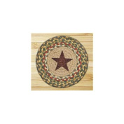 Capitol Importing 80-051GS Gold Star - 10 in. x 10 in. Hand Printed Round Swatch