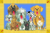 BELLACOR WW-03 3958 Wags and Whiskers The Dogs of Duckport Rectangular