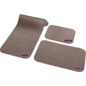 Prest-O-Fit 5-0258 Decorian 3 Piece RV Rug Set Sandstone Beige