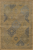 Momeni Rugs BELMOBE-01BLU2030 Belmont Collection Traditional Area Rug, 0.6m x 0.9m, Blue