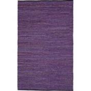 Geoloom - Matador LCD-20 4' x 6' Rectangular Purple Area Rug