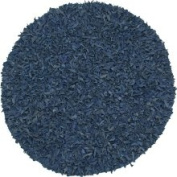Geoloom - Pelle 4' x 4' Round Light Blue (LD-14) Area Rug