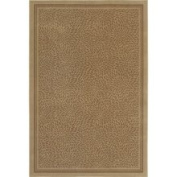 Shaw - Woven Expressions Gold Zoe 7'22.9cm x 10'25.4cm Rectangular Sand (20100) Area Rug