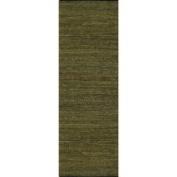 Geoloom - Matador LCD-21 2'12.7cm x 12' Rectangular Green Area Rug