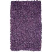 Geoloom - Pelle 4' x 4' Round Purple (LD-10) Area Rug