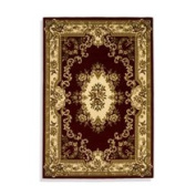 KAS Oriental Rugs Corinthian Red/Ivory Aubusson Rug Rug Size