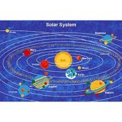 DonnieAnn Company Paradise Design Solar System Bule Outdoor Area Rug