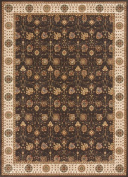 Loloi Rugs Stanley Expresso/Beige Rug Rug Size