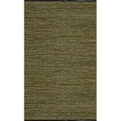 Geoloom - Matador LCD-21 5' x 8' Rectangular Green Area Rug
