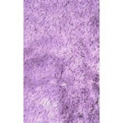 Area Rug in Purple - 2' x 8' - Silky Shag Collection - RUSILK0208-66