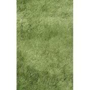Area Rug in Green - 2' x 8' - Silky Shag Collection - RUSILK0208-63