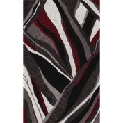 Dalyn Studio SD16 3'15.2cm x 5'15.2cm Black Area Rug