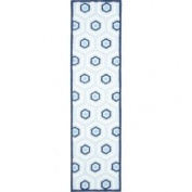 Safavieh Handmade Children's Hexagon Light Blue N. Z. Wool Rug (2'3 x 9')