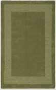 St. Croix Transitions Moss Border Rug Rug Size