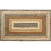 Kettle Grove Jute Rug Braided Rect 152.4cm x 243.8cm