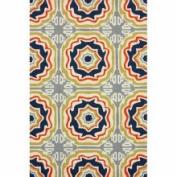 nuLOOM Handmade Indoor/ Outdoor Spanish Tiles Multi Rug (
