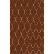 Surya Carpet Inc. Hand-knotted Leroy Brown Wool Rug