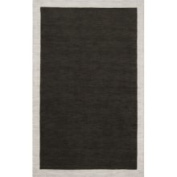 angelo:HOME Madison Square Coal Black/Oatmeal Rug Rug Size