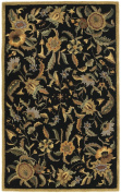 St. Croix Traditions Paradise Black Rug Rug Size