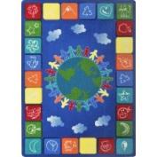 Joy Carpets One World Area Rug - 5'10cm x 7'20cm  - 1745C