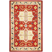 St. Croix Traditions Virtu Red Rug Rug Size