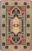 St. Croix Traditions Sparta Navy/Red Rug Rug Size