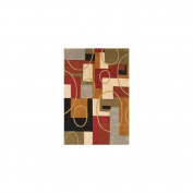 Horizone Home Hand-tufted Metro Classic Multi-Colour Wool Rug (8' x 10')